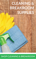 Cleaning, Sanitation, Janitorial, and Breakroom Supplies
