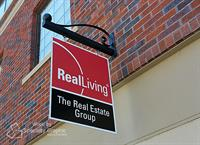 Double Sided Blade Sign for Real Living Longview