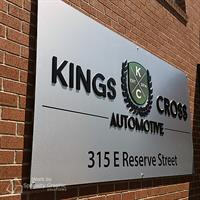 Building Sign for Kings Cross Automotive