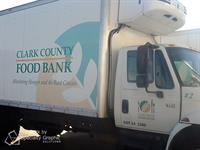 Box Truck Graphics for Clark County Food Bank
