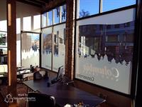 Columbia Land Trust Frosted Window Graphics