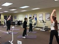 Members participating in a specialty class