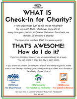 Groove Nation Check-in for Charity