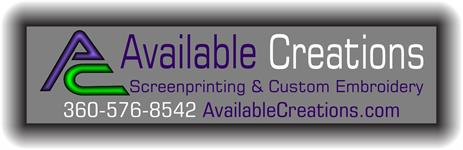 Available Creations Screenprinting & Embroidery LLC