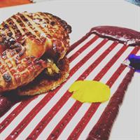 Foie Gras/Huckleberry Creme/Brioche/Fennel Confit