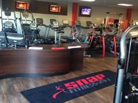 Reception Area, Cardio Equipment behind
