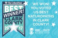 Voted 2017 Best Naturopaths in Clark County