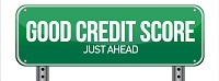 Your Good Credit Score is Up Ahead