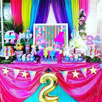 Trolls Birthday Party