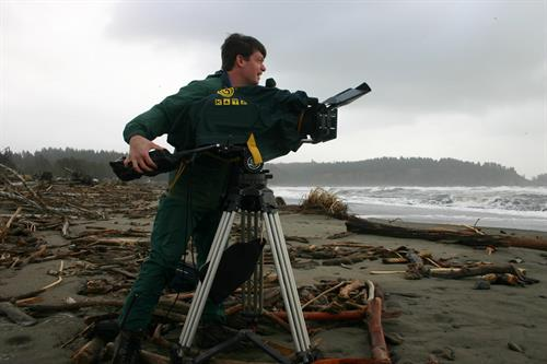 Shooting for Seabrook Land Company on Washington coast