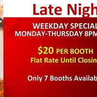 Check Out Our Late Night Specials