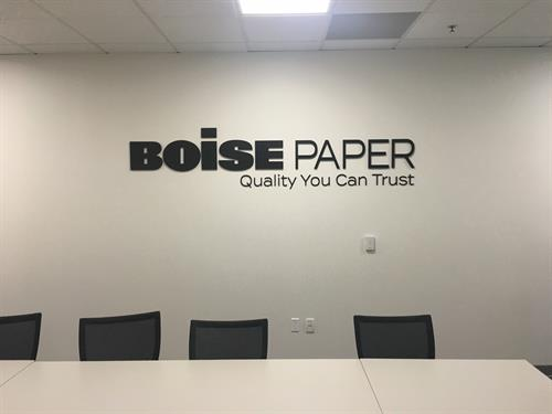 Conference room signage are great for internal branding!