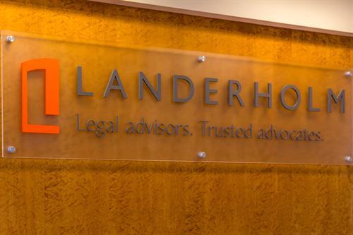 Landerholm, P.S. –Front Desk