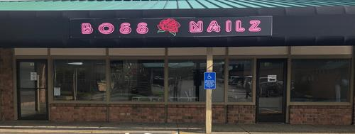 Boss Nailz Location