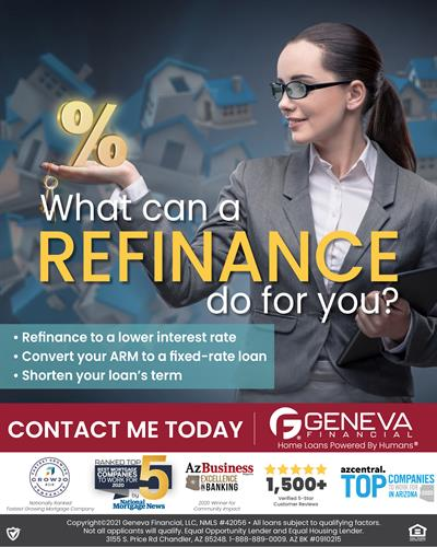 What can a refinance do for you?