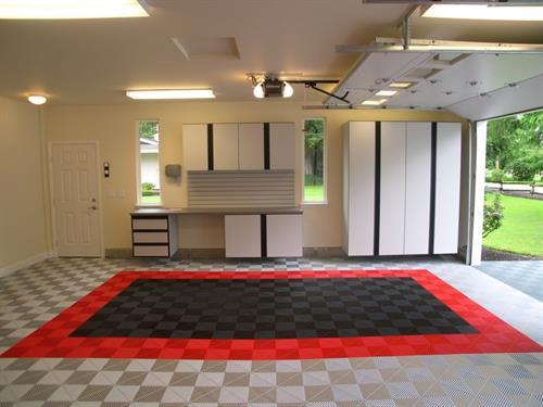 Garage Flooring - Premier Trax