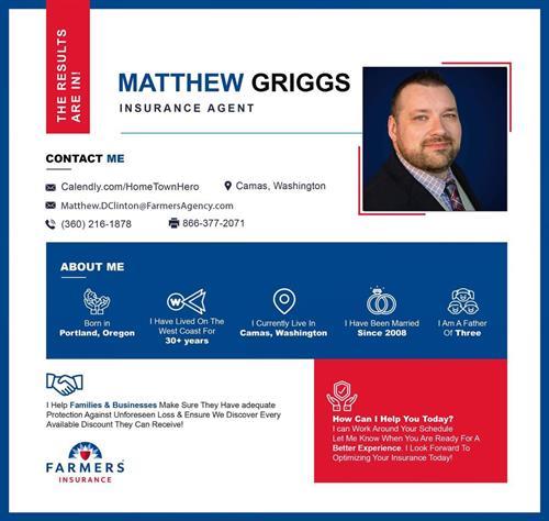 Bio: Matthew Griggs Insurance Agent