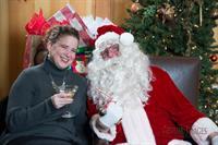 WEO Amy Loudenback & Santa!