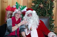WEO Debra Wilson & Santa!