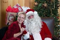 WEO Kate Singh & Santa!