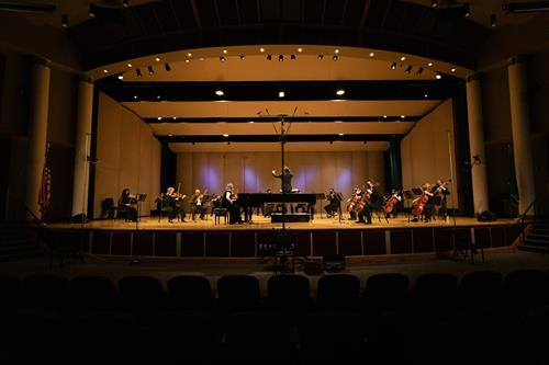 April 2021 Concert at Skyview Concert Hall a live streamed event.
