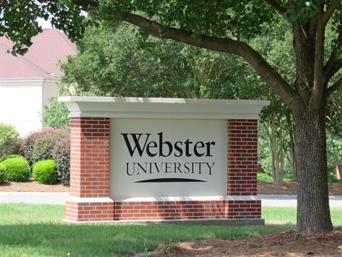Welcome to Webster University Columbia Metropolitan Campus.
