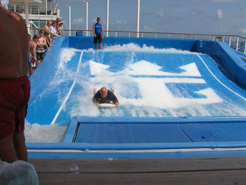 The flow rider on Allure of the Seas