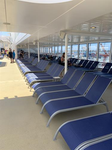 Have you ever seen the sundeck empty?
