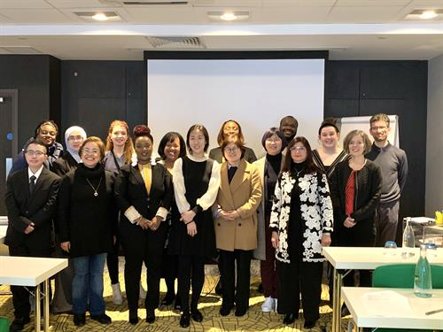 Introducing culture-focused strategies to global educators in London, UK