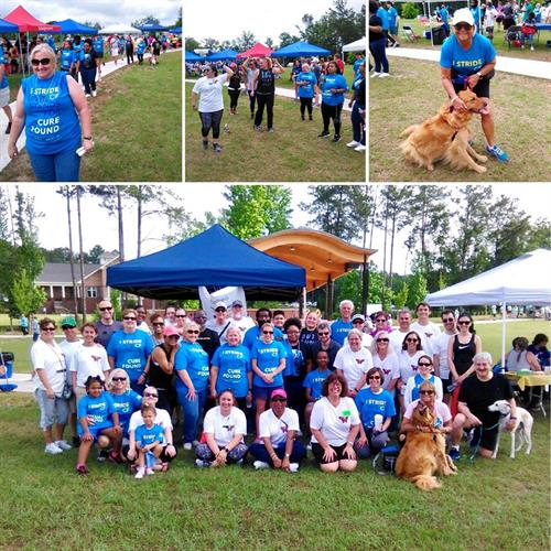 Seibels at the 2018 Great Strides Campaign benefiting the Cystic Fibrosis Foundation