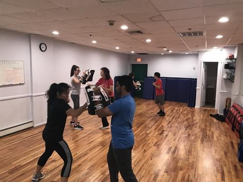 Adult Self defense class