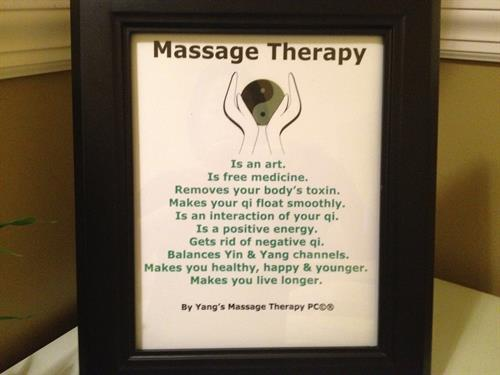 massage theroy