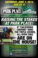 """Park Place Restaurant needed some boost to their social landscape and chose a """"Quick Cut"""" video poster ad that featured track announcer, music & SFX to break thru the clutter on Facebook and other social media during a possible Triple Crown at Belmont"""