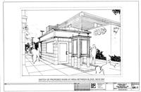 Sketch of proposed kiosks