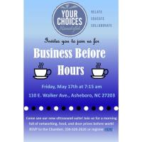 Business Before Hours