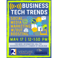 Business Tech Trends: Social Media Marketing without Boosting