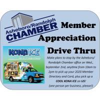 Member Appreciation Drive Thru