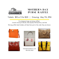 Mother's Day Purse Raffle Drawing