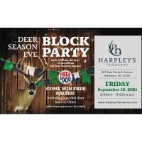 Deer Season Eve Block Party