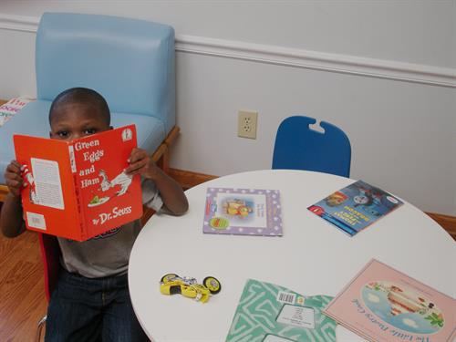 Reach Out and Read means pediatricians can prescribe books and support families to strengthen early literacy.