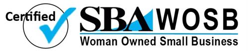 We are a certified Small Business Administration Women-Owned Small Business.