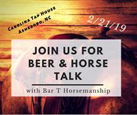 Beer & Horses at Carolina Tap House