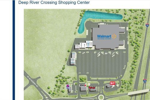 Randleman Walmart Site Plan