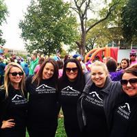 Wright Realtors Team at the Alzheimer's Walk