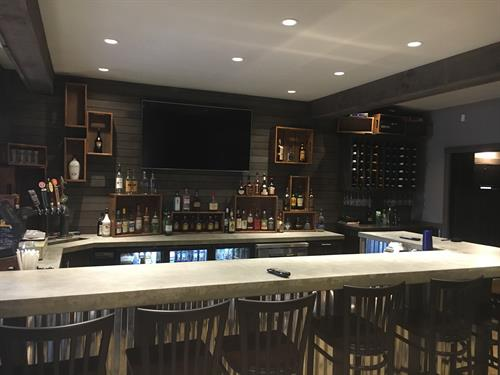 Visit our newly renovated bar.  We have great daily drink specials!