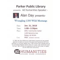 Wrangling 1500 Wild Mustangs presented by Parker Public Library