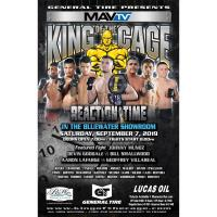 King of the Cage-Reaction Time at BlueWater Resort & Casino
