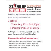 Stand Up Against Bullying @ Library