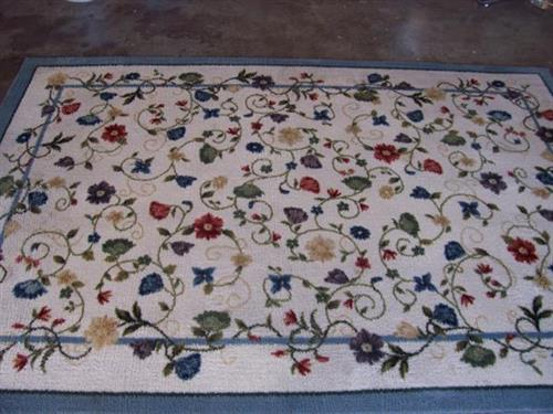 Area Rug Cleaned - AFTER