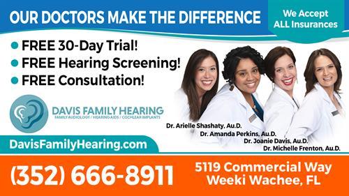Davis Family Hearing